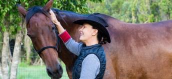 Be a horse nanny